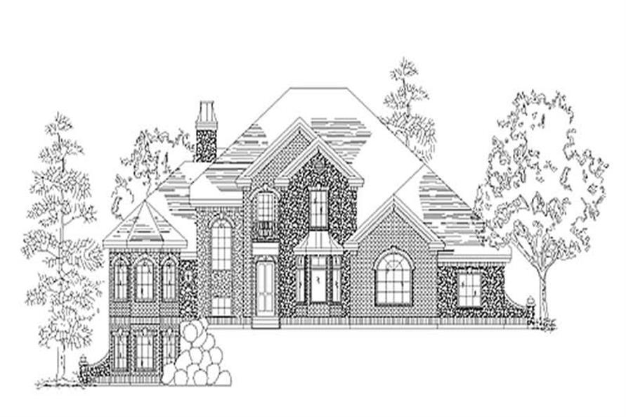 Main image for house plan # 11171