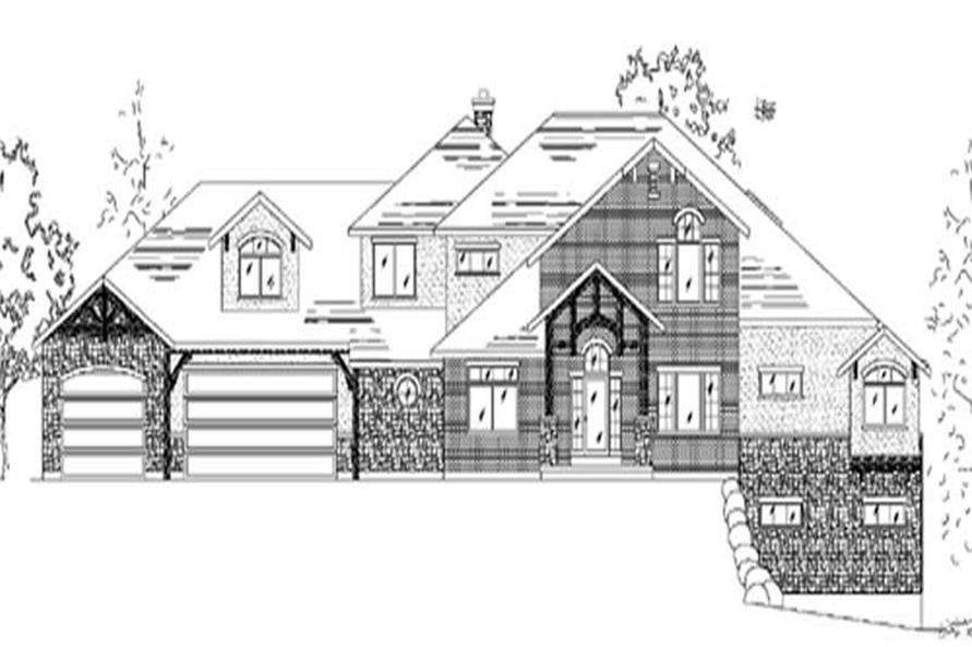 Main image for house plan # 11077