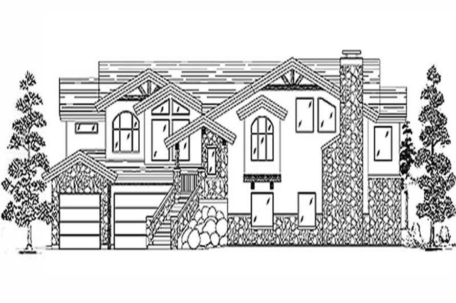 Main image for house plan # 11057