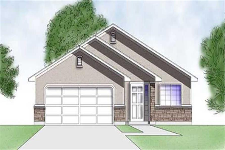 Main image for house plan # 8065