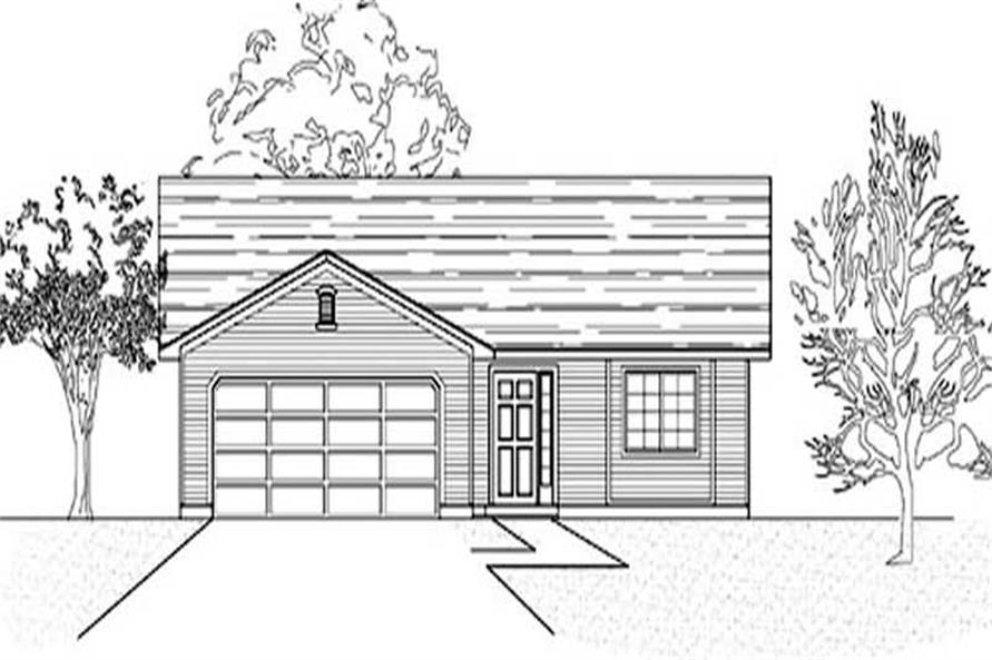 Main image for house plan # 8071