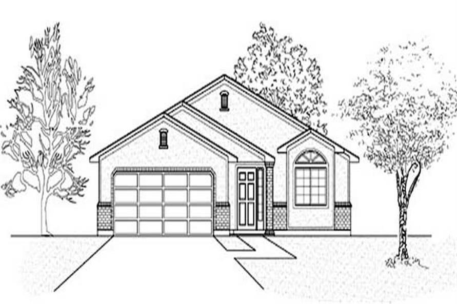 Main image for house plan # 8073