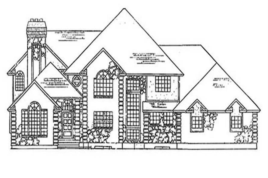 Main image for house plan # 11070