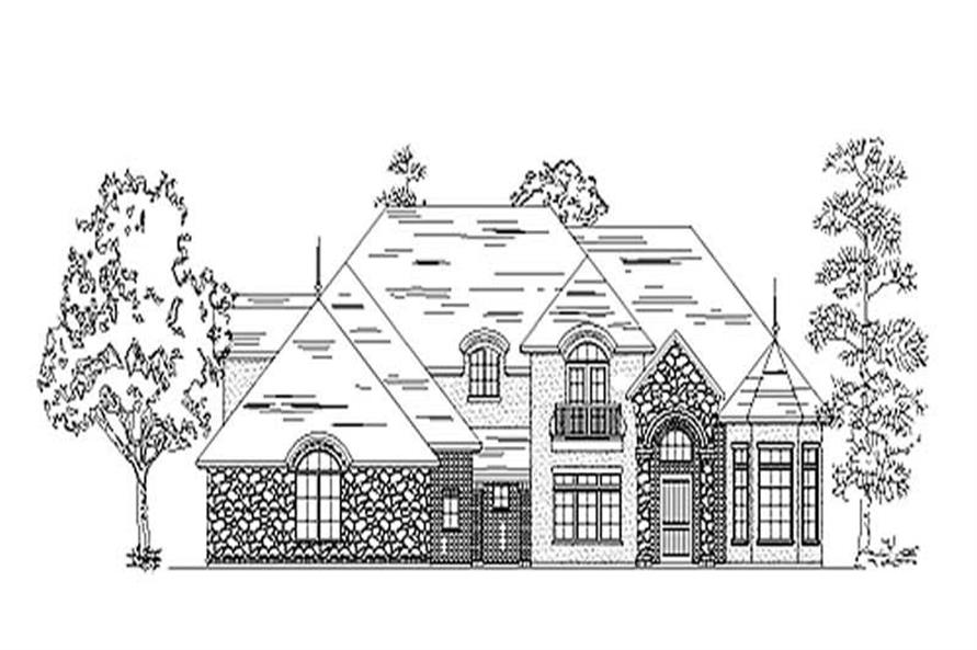 Main image for house plan # 11146