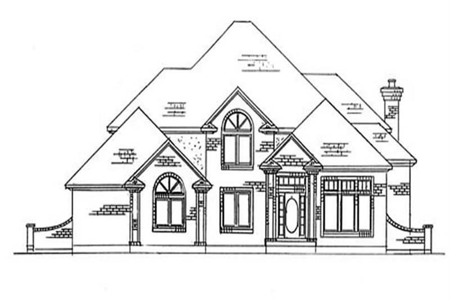 Main image for house plan # 11138