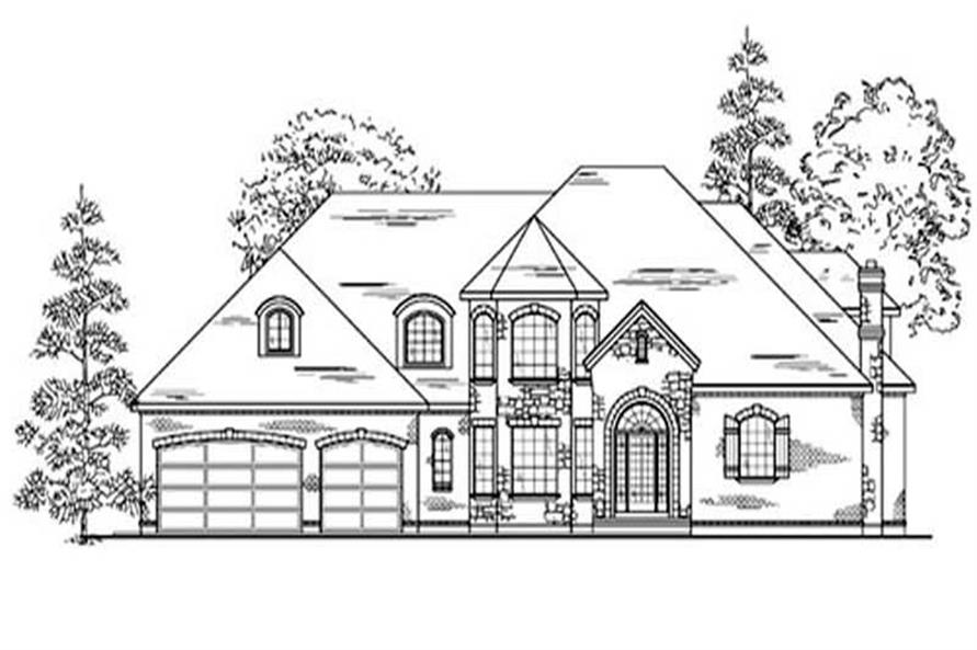 Main image for house plan # 11068