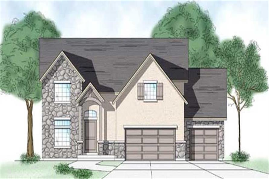 Main image for house plan # 11184