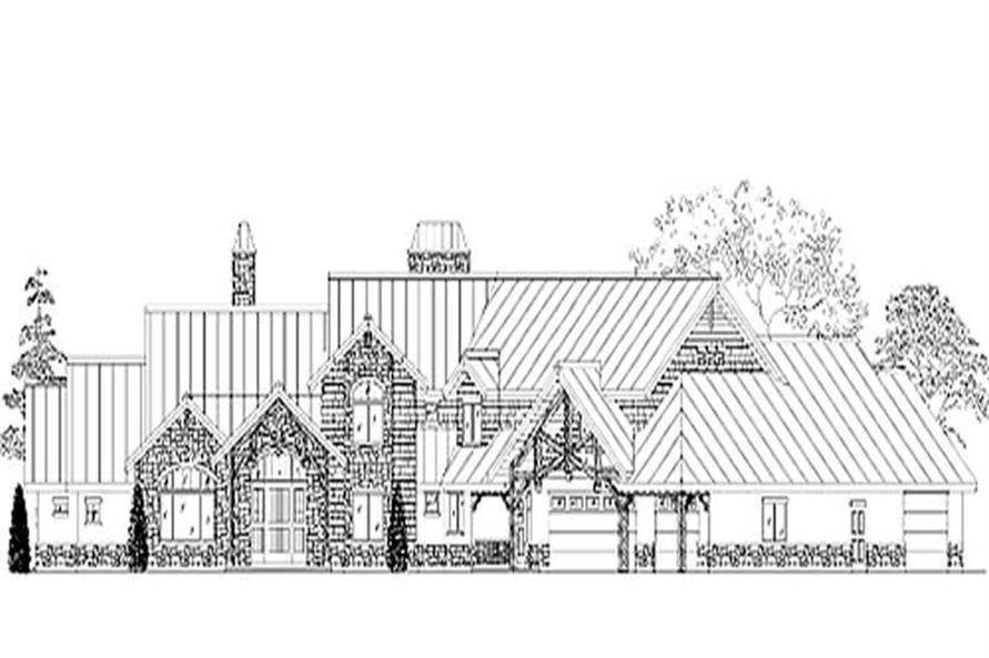 Main image for house plan # 11089