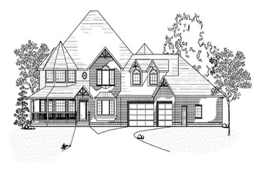 Main image for house plan # 11131