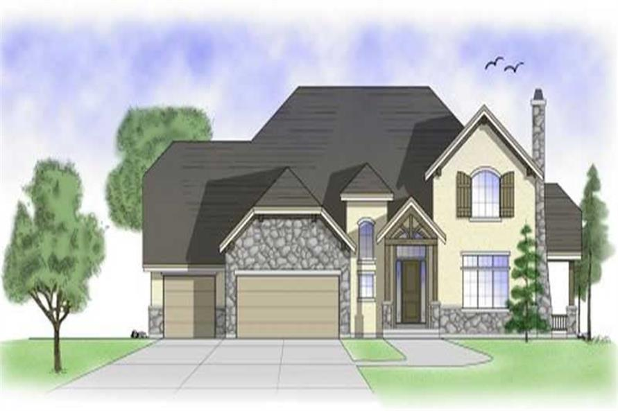 Main image for house plan # 11169