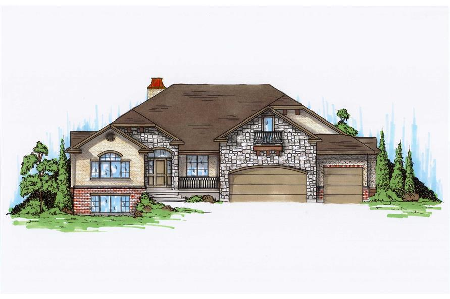 Main image for house plan # 11177