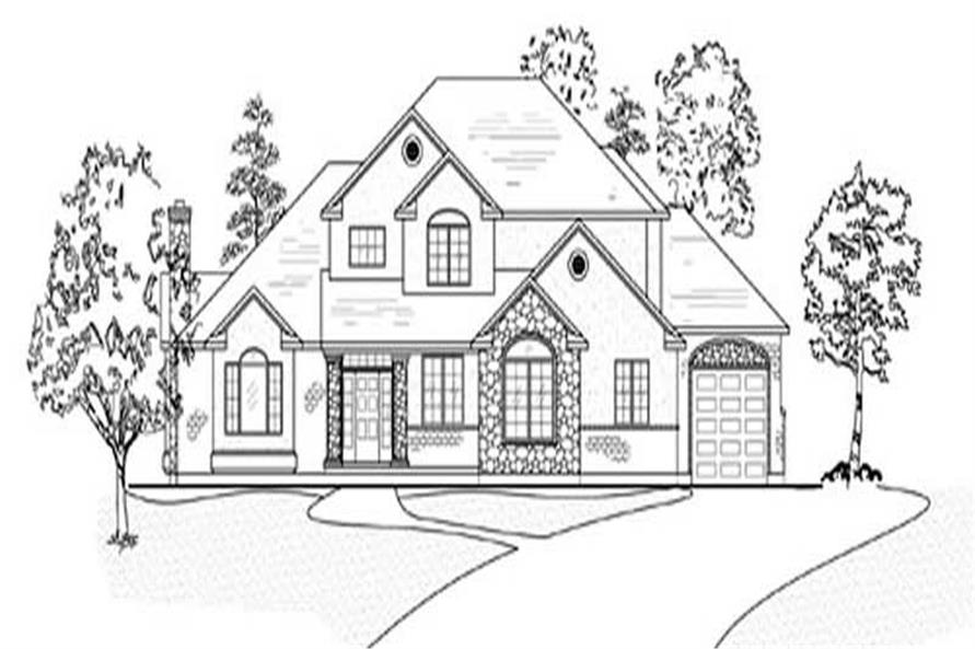 Main image for house plan # 11143