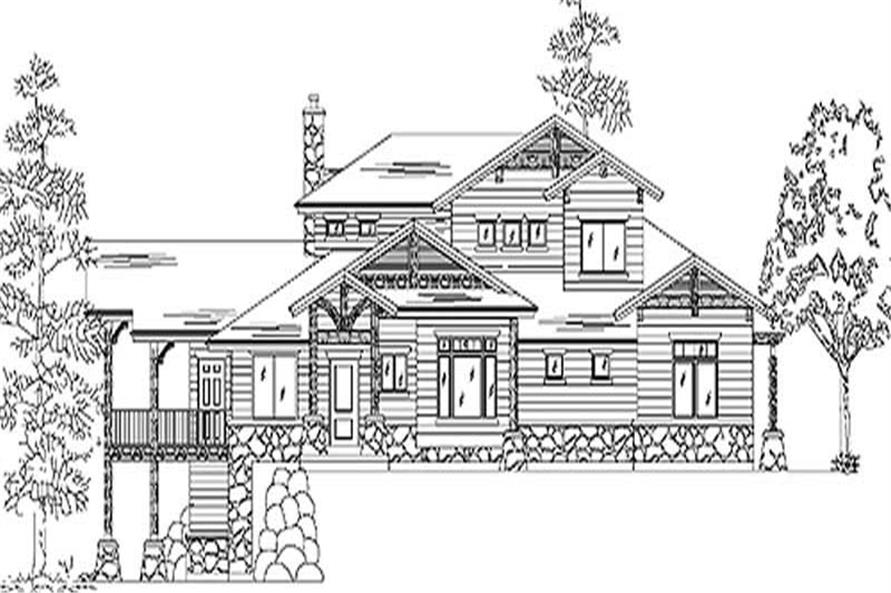 Main image for house plan # 11157