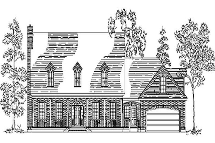 Main image for house plan # 11049