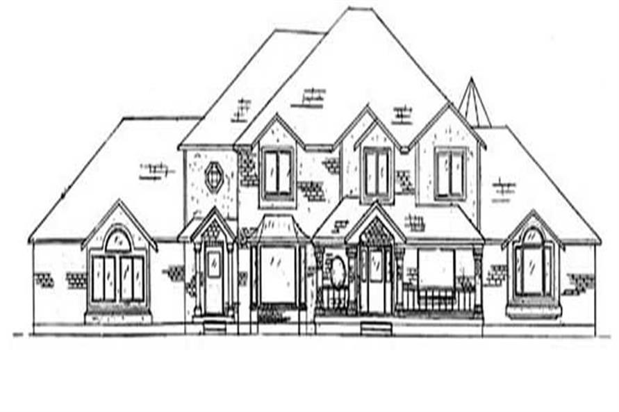 Main image for house plan # 11085