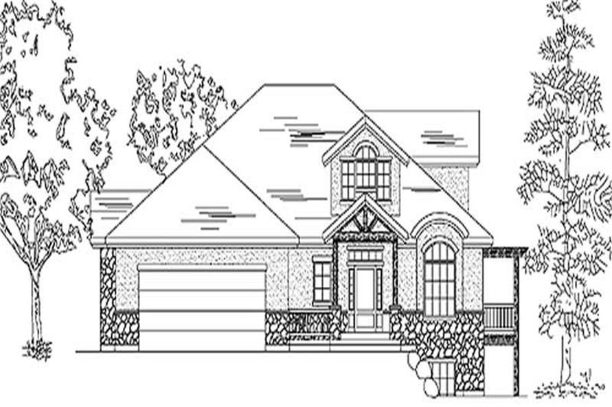 Main image for house plan # 11187