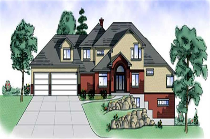 Main image for house plan # 11072