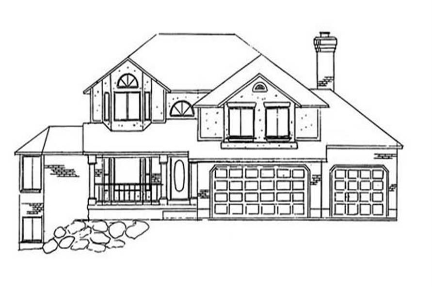 Main image for house plan # 11190