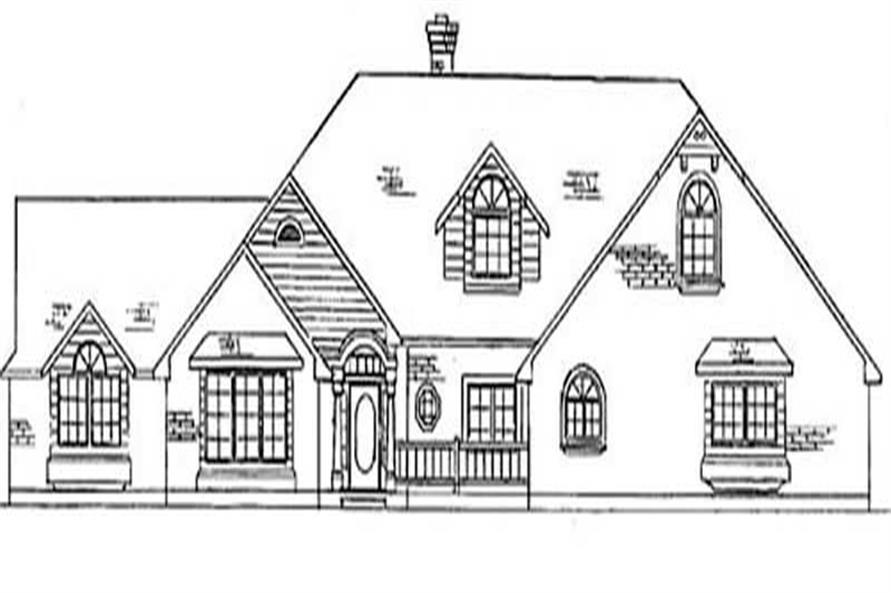 Main image for house plan # 11134
