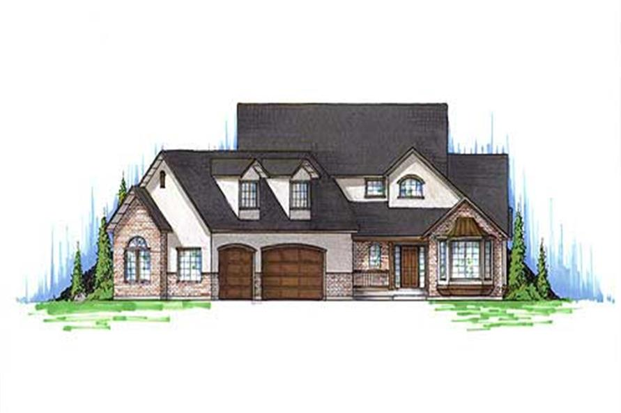 Main image for house plan # 11185