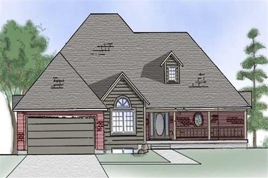 Main image for house plan # 8089