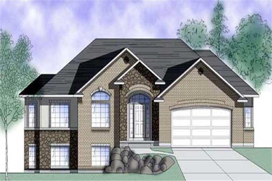 Main image for house plan # 8087