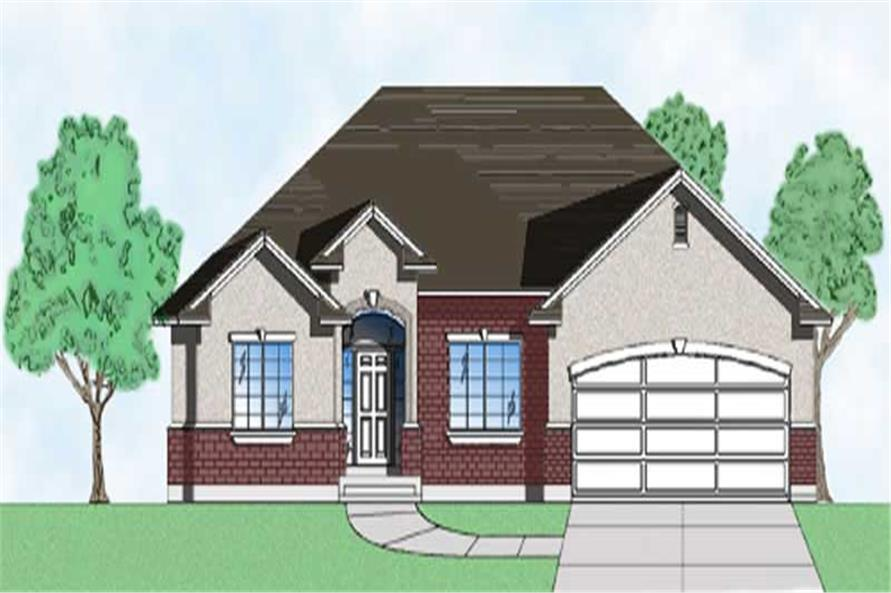 Main image for house plan # 8085