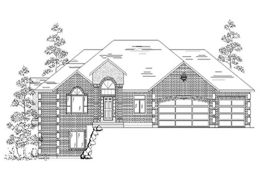 Main image for house plan # 8099