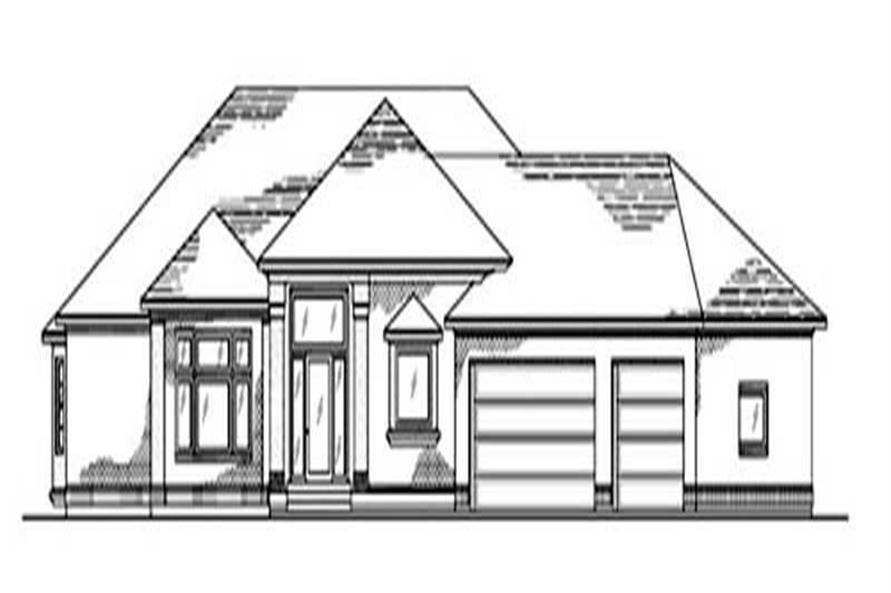 Main image for house plan # 8132