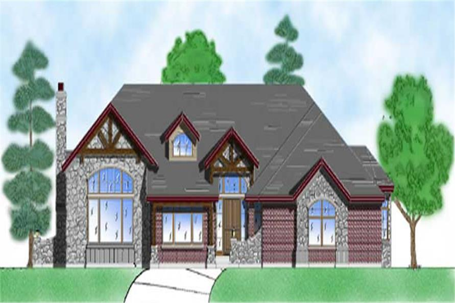 Main image for house plan # 8122