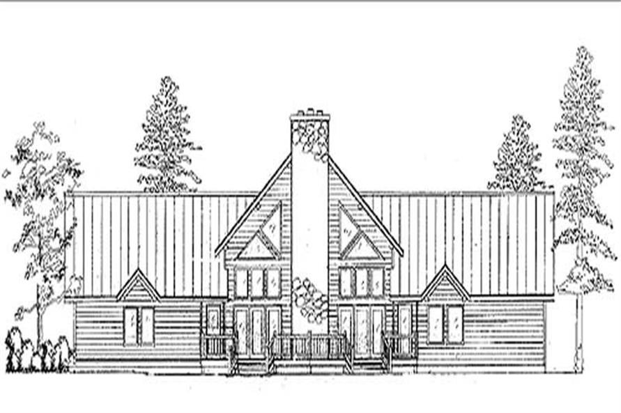 Log Home Design Main Image.