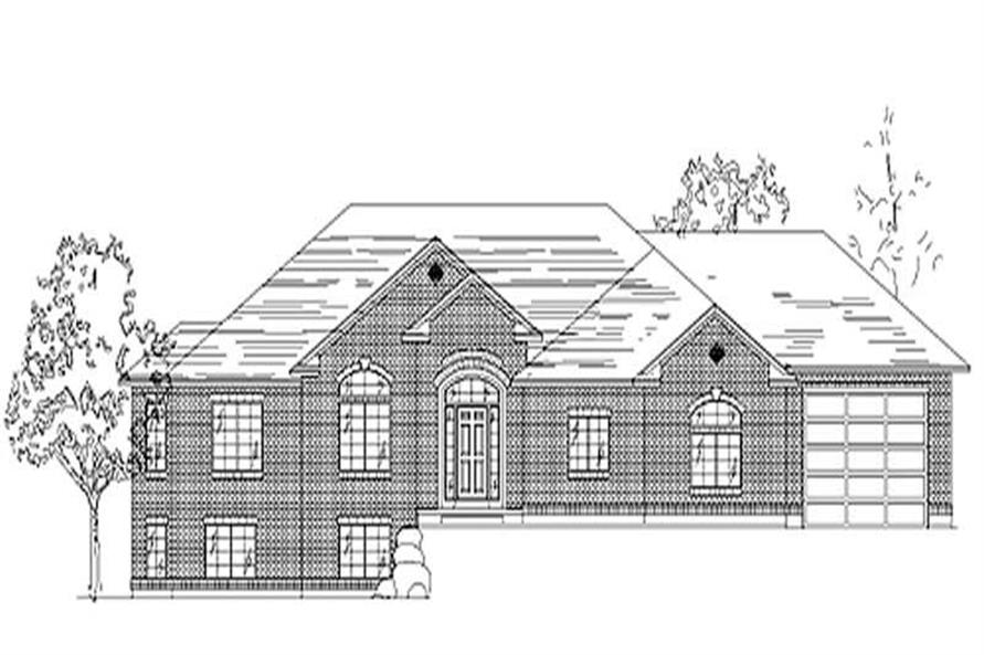 Main image for house plan # 8094