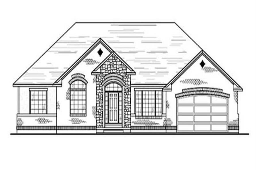 Main image for house plan # 8111
