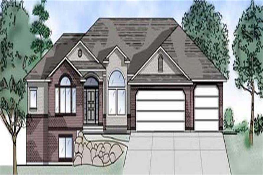 Main image for house plan # 8104