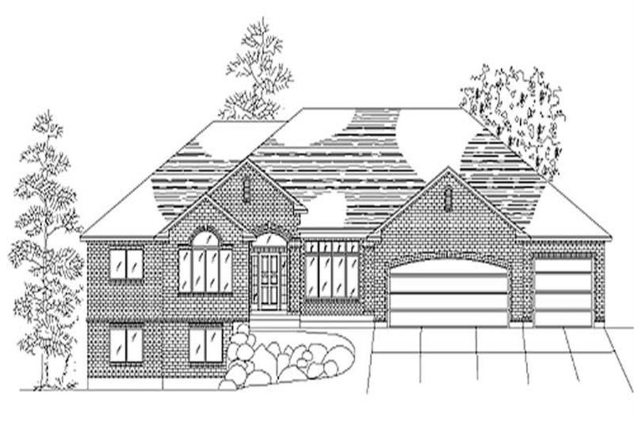 Main image for house plan # 8103