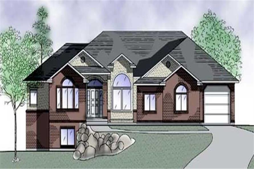Main image for house plan # 8114