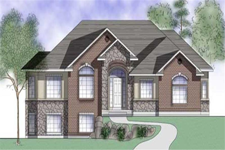 Main image for house plan # 8091