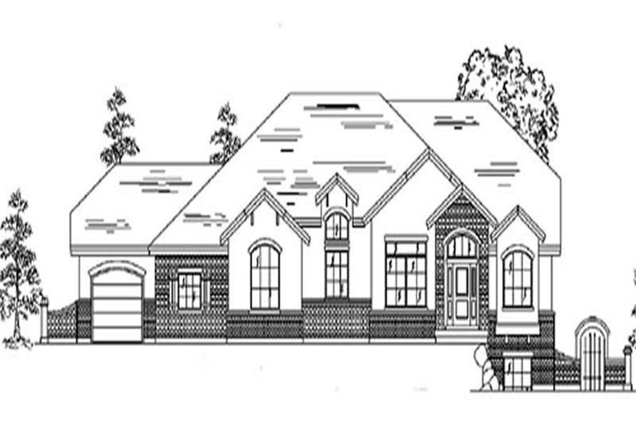 Main image for house plan # 8133