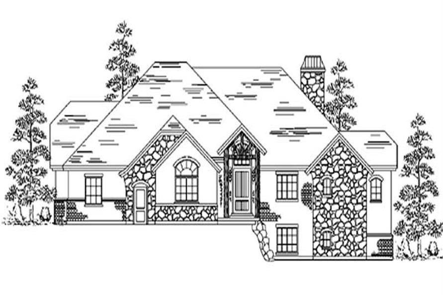 Main image for house plan # 8167
