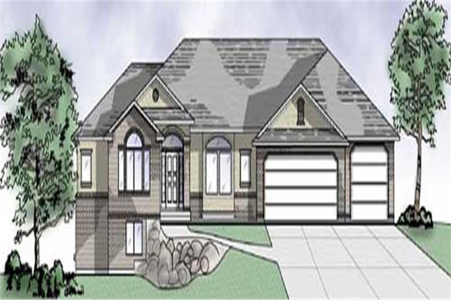 Main image for house plan # 8108