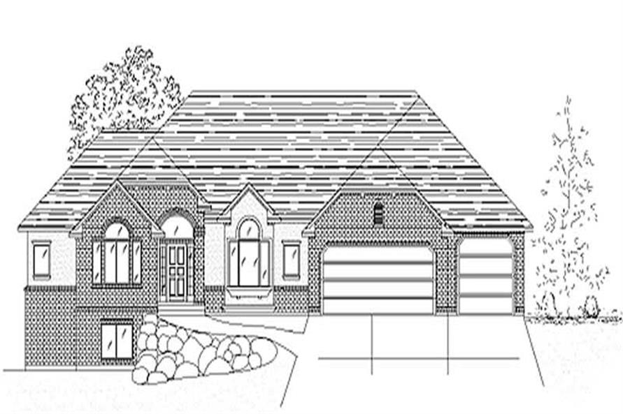 Main image for house plan # 8109