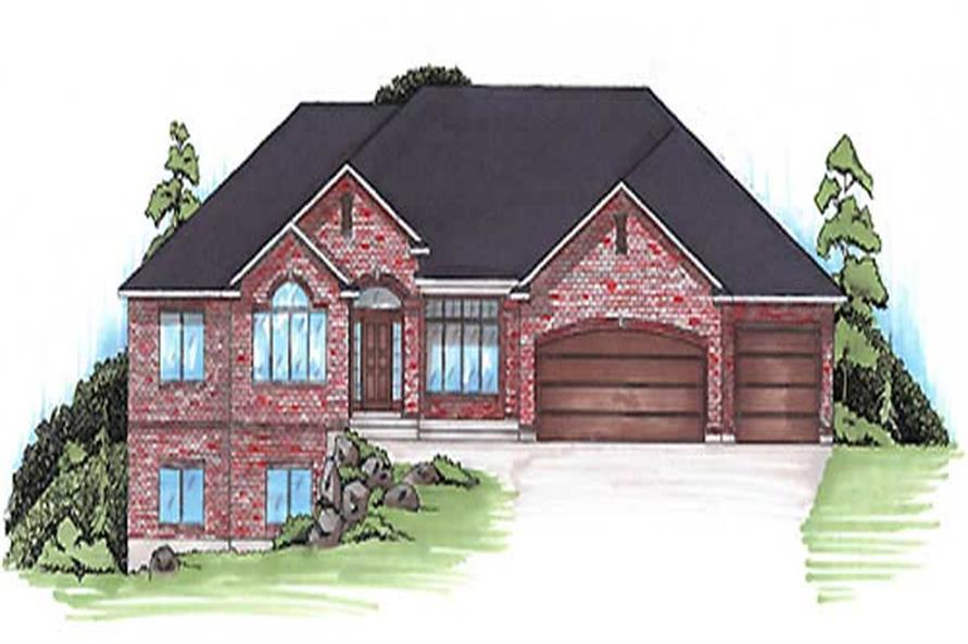Main image for house plan # 8121