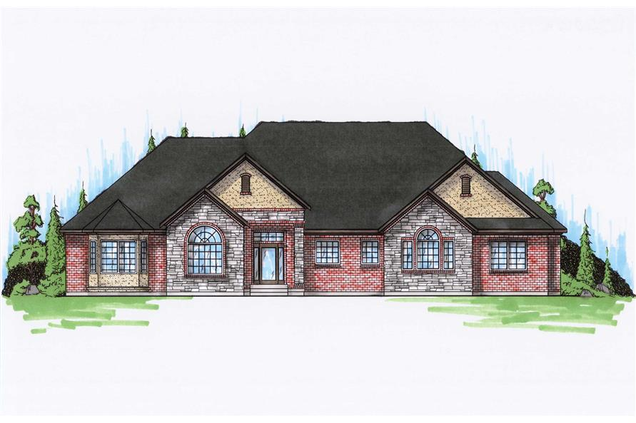 Main image for house plan # 8146