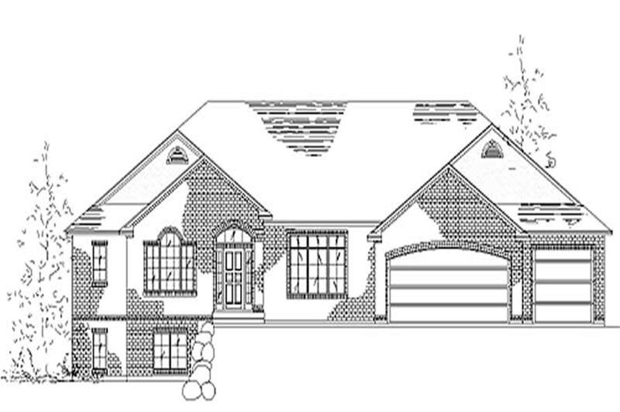 Main image for house plan # 8124