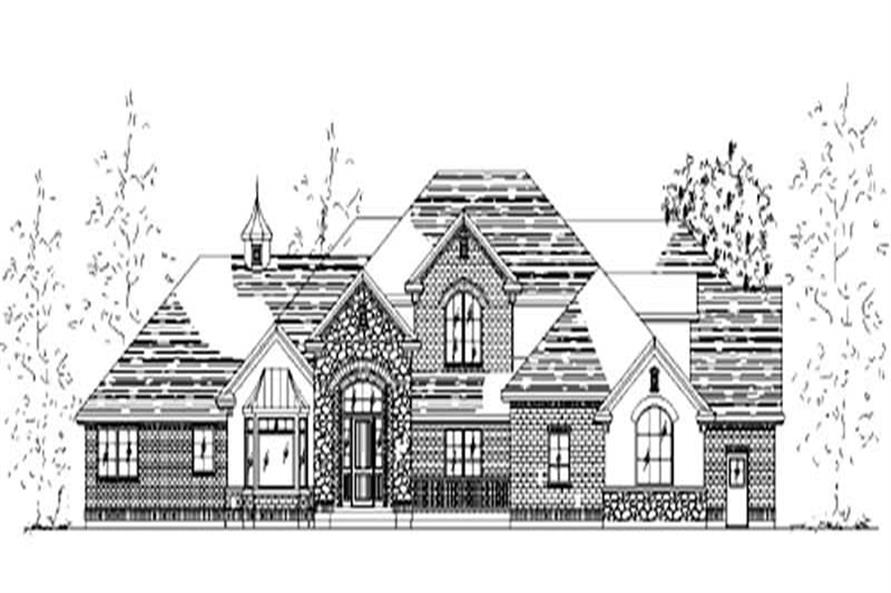 Main image for house plan # 11033