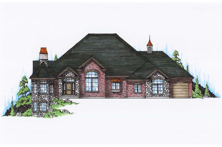 Main image for house plan # 8162