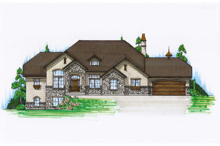 Main image for house plan # 8127