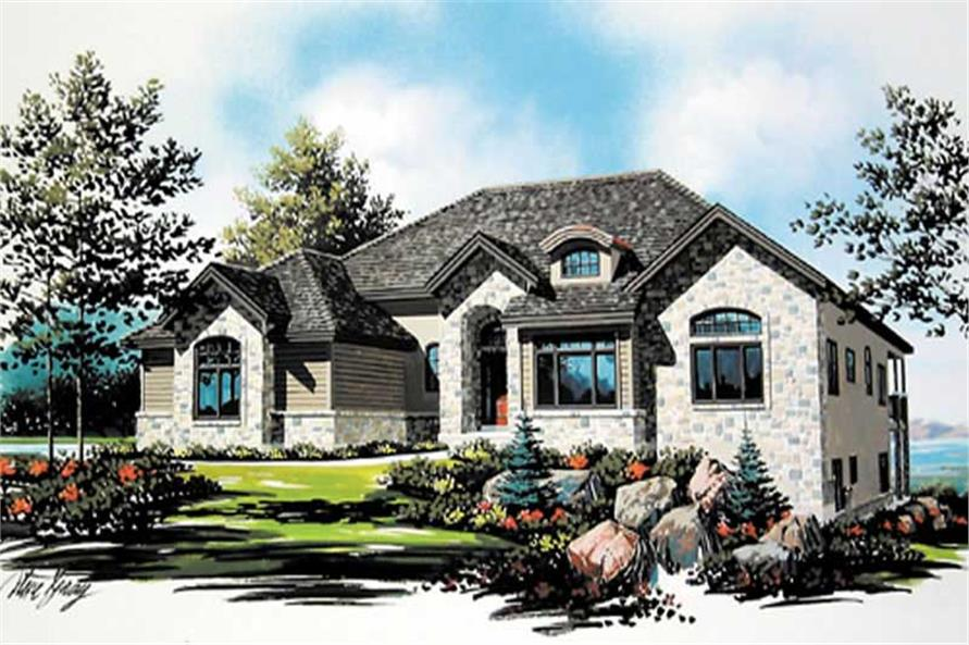 Main image for house plan # 8143