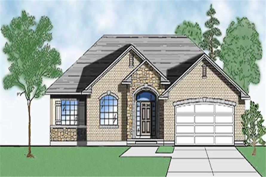 Main image for house plan # 8084