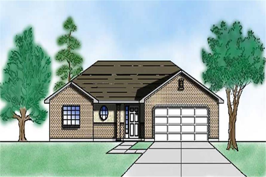 Main image for house plan # 8068
